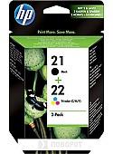 Картридж HP 21 Black/22 Tri-color (SD367AE)