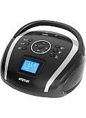 Портативная аудиосистема Mystery BM-6004UB (черный/серый)