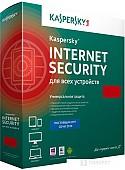 Система защиты ПК от интернет-угроз Kaspersky Internet Security (3 ПК, 1 год, продление, карта)